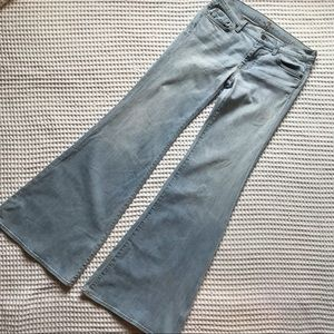 7 For All Mankind Super Flares in Ibiza Wash